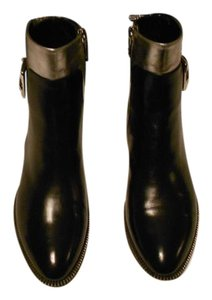 Sebastian Milano High Fashion Soft Leather Striking Design Made In Italy Black Boots