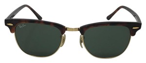 Ray-Ban RB 3016 W0366 - TORTOISE RAY BAN CLUBMASTER SUNGLASSES