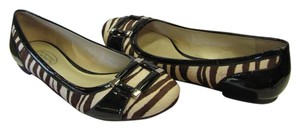 Talbots New Size 7.00 M Animal Design Black, Brown, Neutral Flats