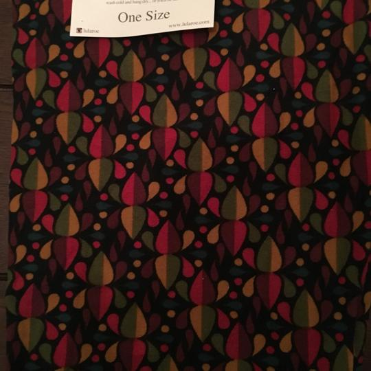 LuLaRoe Geometric Print Multicolor Leggings - 42% Off Retail lovely