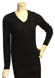 BCBGeneration short dress Black gold on Tradesy