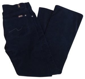 7 For All Mankind Corduroy Flare Boot Cut Jeans