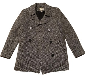 L.L.Bean Double-breasted Wool Wool Pea Coat