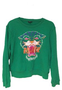 Bardot Sweatshirt Tiger Embroidery Sweatshirt