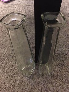 Clear Bud Vases (18)
