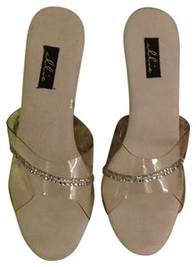 Ellie Shoes Clear Mules