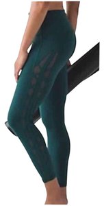 Lululemon Nwt Lululemon High Times Pant Rhythm Special Edition Deep Green