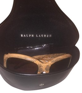 Ralph Lauren Ralph Lauren - RL8007Q - Brown Iguana Leather Frame-Brown Lenses