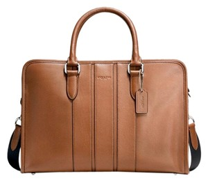 Coach Bond Business Brief Smooth Leather F72309 Laptop Bag