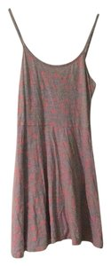 Cotton On short dress Gray and Pink on Tradesy