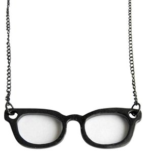 Other Nerd Glasses Necklace