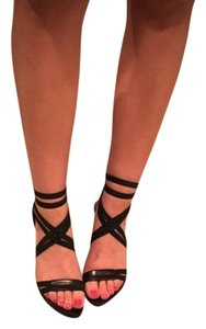 Donald J. Pliner Strappy Heels Black Sandals