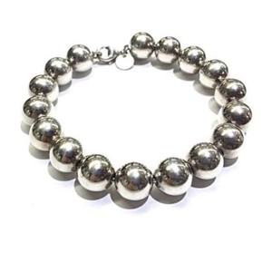 Tiffany & Co. Tiffany & Co. Large 10mm Sterling Silver Bead 7 1/2