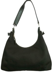 Salvatore Ferragamo Black Hobo Bag