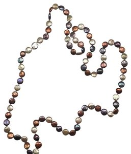 Honora Metallic Coin Pearl Necklace