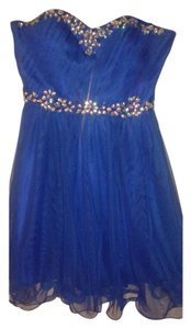 DEB Short Beaded Prom Dress
