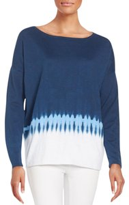 Vince Boatneck Pullover Tie Dye Sweater