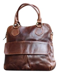 The Leather Store UK Tote in Brown