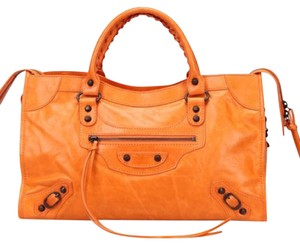 Balenciaga Tote in Orange
