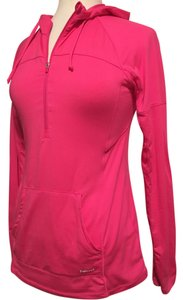 GH sports - Hind Hind -Running, 1/2 chest zipper, thumb slit cuff, pouch pocket hoodie