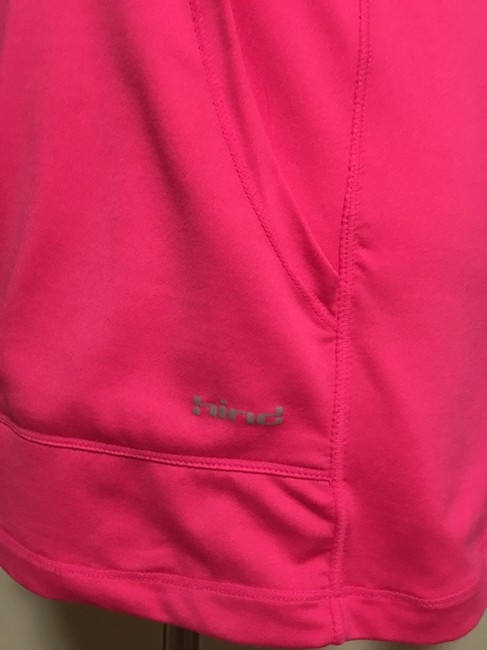 GH sports - Hind Hind -Running, 1/2 chest zipper, thumb slit cuff, pouch pocket hoodie Image 2