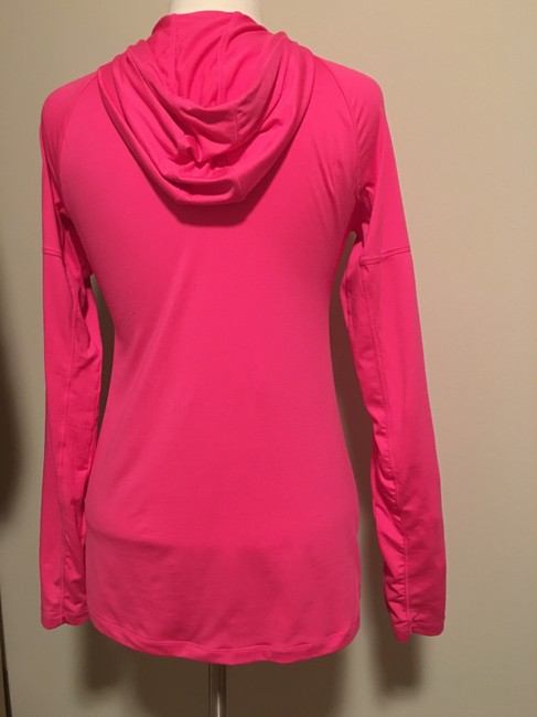 GH sports - Hind Hind -Running, 1/2 chest zipper, thumb slit cuff, pouch pocket hoodie Image 3