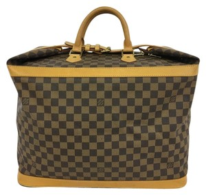 Louis Vuitton Lv Damier Ebene Cruiser 45 brown Travel Bag