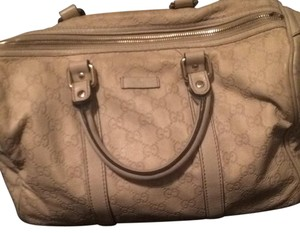Gucci Cream Travel Bag