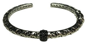 Charles Krypell 25% off SALE Charles Krypell SS&14k Wh Gold Pave Blk Sapphire Bracelet
