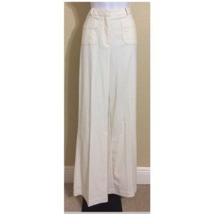 Worthington Wide Leg Pants Ivory