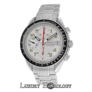 Omega Authentic Mint Mens Omega Speedmaster 3513.33 Chronograph Date