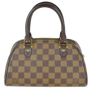 Louis Vuitton Lv Damier Ribera Pm Tote in Brown