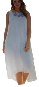 White Chiffon Perfect For Beach Never Been Worn Still with Tags. Destination Wedding Dress Size 12 (L)