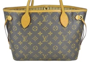 Louis Vuitton Lv Neverfull Monogram Shoulder Bag