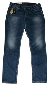 Silver Jeans Co. Defined Curve Skinny Jeans-Medium Wash