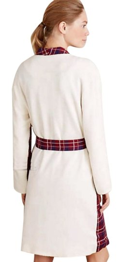 Anthropologie Plaid Sherpa Robe Image 3