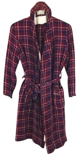 Anthropologie Plaid Sherpa Robe Image 5