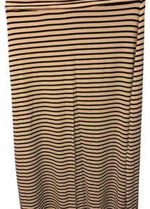 J.Crew Maxi Skirt Cream black