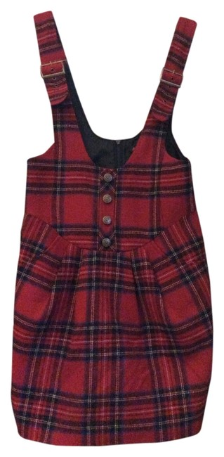Preload https://item5.tradesy.com/images/betsey-johnson-plaid-above-knee-short-casual-dress-size-0-xs-2018869-0-0.jpg?width=400&height=650