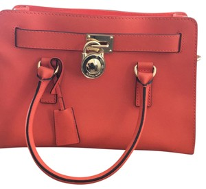 MICHAEL Michael Kors Satchel in Orange
