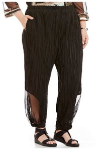IC Collection Wide Leg Pants Black