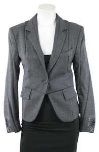 Maison Martin Margiela for H&M Gray Wool Jacket Suits Blazer