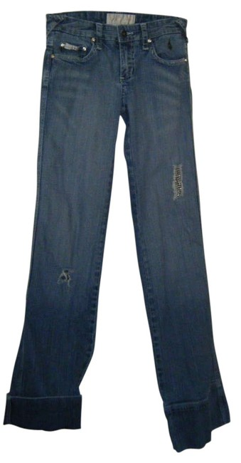 Baby Phat Skinny Jeans-Medium Wash