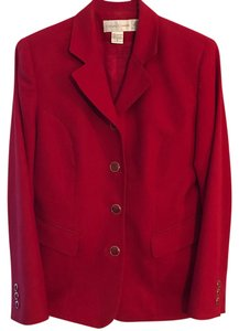 Casual Corner Red Blazer