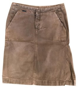 Diesel Skirt Green, tan, khaki