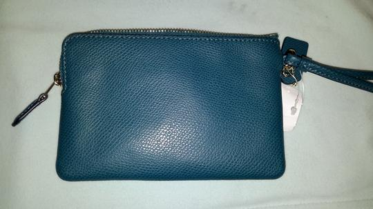 Coach Wristlet in Teal Image 1
