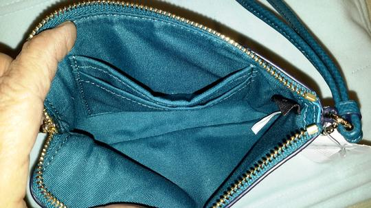 Coach Wristlet in Teal Image 2