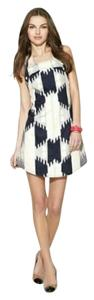 Marc by Marc Jacobs short dress Cream\Blue\Grey on Tradesy