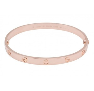 Cartier Rose Gold Love Bracelet Size 16