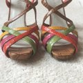 Nine West Light Brown/multi/leather Platforms Image 1